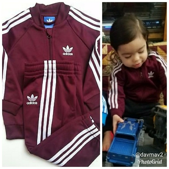 ada1801f9 adidas Matching Sets | Holdreserved Originals Baby Tracksuit | Poshmark